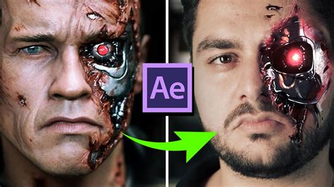 Terminator Face in After Effects Tutorial using Lockdown ...