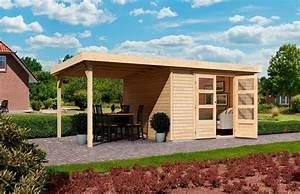 Gartenhaus Anbau Hauswand : karibu gartenhaus arnis 2 gesamtma bxt 433x220 cm inkl anbau online kaufen otto ~ Orissabook.com Haus und Dekorationen