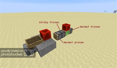 Minecraft Boat Piston by Rideable Slime Block Flying Machine Redstone Discussion