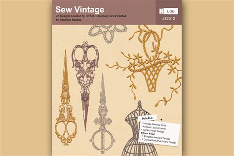cover letter example it bernina exclusive embroidery collections products bernina 21022   SewVintage Cover2100x1400