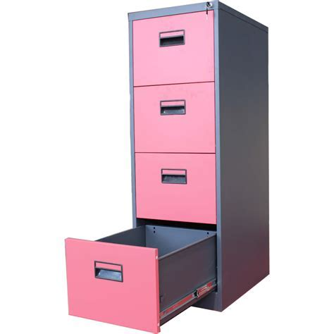 File Cabinets. astonishing pink metal file cabinet: pink