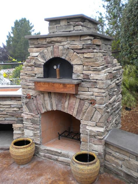Backyard Pizza Oven by Outdoor Pizza Oven Pit Exterior