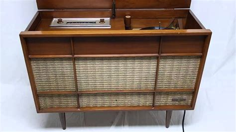 for sale mid century modern stereo voice of bluetooth am fm record player