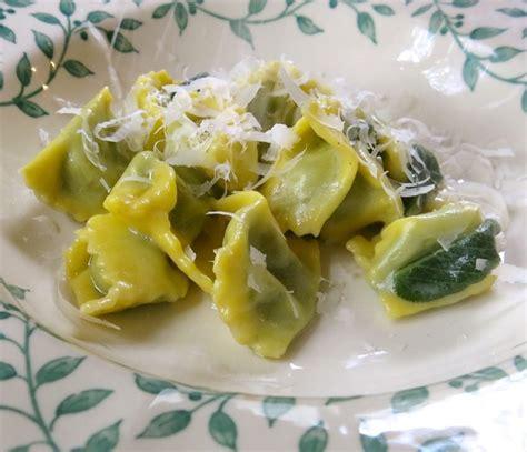 Pumpkin Ravioli Recipe Sauce by Agnolotti With Sage Walnut Cream Sauce Recipe Dishmaps