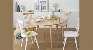 Chaises La Redoute Interieur : table ronde avec 4 chaises la redoute interieur ~ Teatrodelosmanantiales.com Idées de Décoration