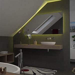 Leuchte Für Spiegel : spiegel f r dachschr gen mit led beleuchtung fina 989706556 ~ Whattoseeinmadrid.com Haus und Dekorationen