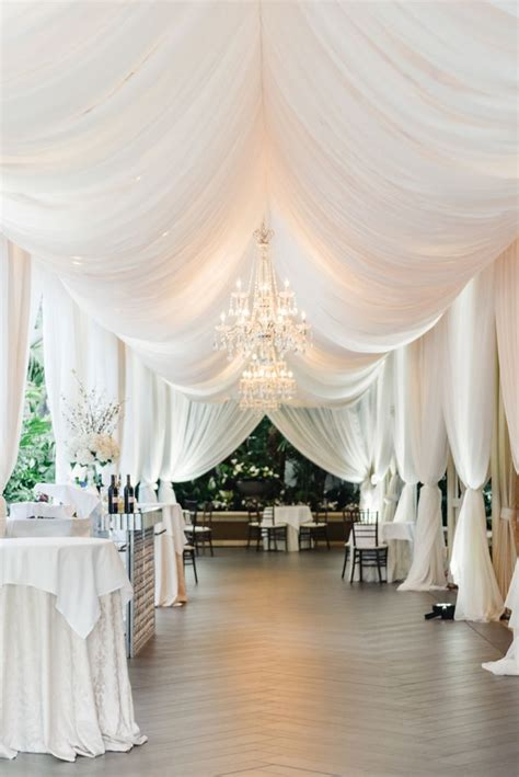 draping for wedding receptions 1000 ideas about ceiling draping wedding on