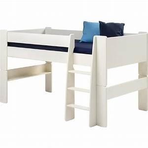 Lit En Hauteur Enfant : lit mezzanine mi hauteur enfant achat vente lit ~ Preciouscoupons.com Idées de Décoration