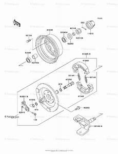 Kawasaki Atv 1995 Oem Parts Diagram For Front Hub