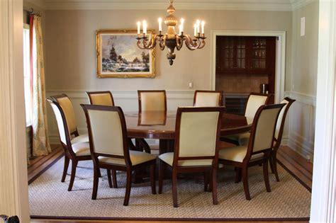 extra large   mahogany dining table  perimeter