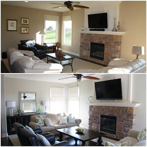 Designing with Neutral Living Room Paint   Life on