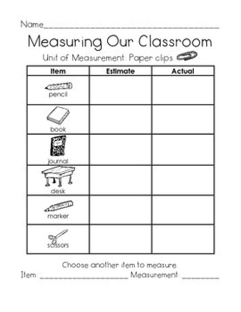 Measuring Our Classroom Using Nonstandard Units by Just ME