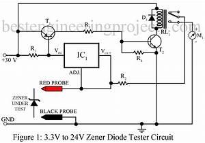 Zener Diode Tester Circuit