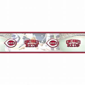 Cincinnati Reds MLB Wall Border