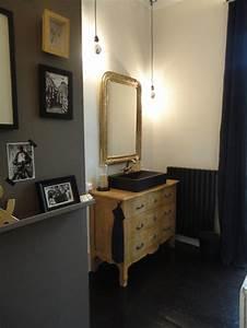 Commode Pour Salle De Bain : salle de bains tendance archives blog de tendances wc ~ Teatrodelosmanantiales.com Idées de Décoration