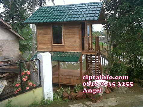 Rumah Kayu Lembang Bandung