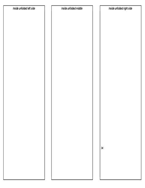 Blank Brochure Templates Cyberuse Free Printable Blank Brochure Template