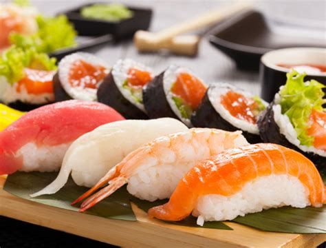 cuisine sushi japanese food and drinks