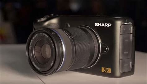 Sharp 8k Video Camera At Ces 2019