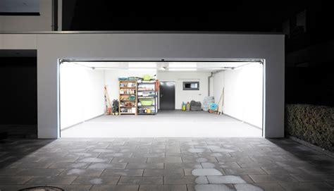 Einbauleuchten Garage led garagenbeleuchtung teckentrup