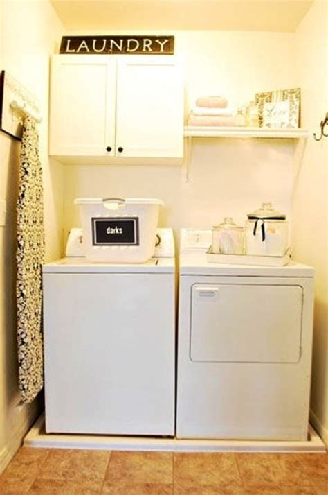 small laundry room makeover laundry things