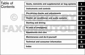 2003 Nissan Pathfinder Owner U0026 39 S Manual Original