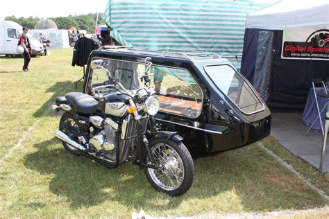Filemotorcycle With Sidecar At The Beaulieu Motorcycle