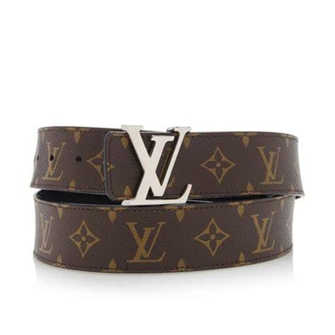 louis vuitton monogram canvas initiales reversible belt