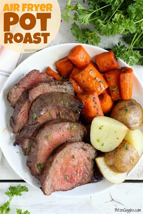 fryer air roast cook pot beef recipe recipes cooking fried easy bitzngiggles bag tender fork marinated chuck minutes steak juicy