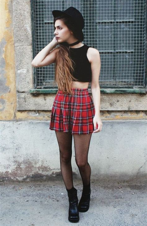 103 Grunge Outfits for Teenage Girls