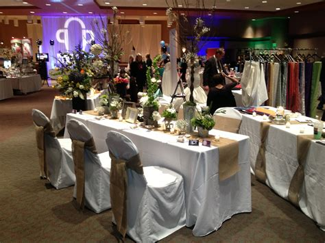 rustic burlap and white wedding table set up devoted weddings and events