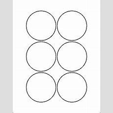 "Round Labels  Circle Labels  Ol5525  2875"" Circle"