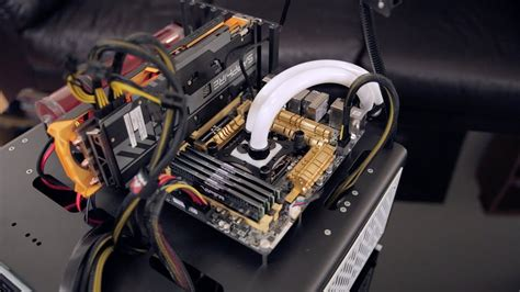 Bench Test by New Water Cooled Pc Test Bench Dimastech Easy V3