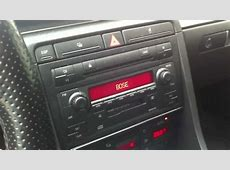 Audi Symphony 2 whith Bose system A4 B6 YouTube