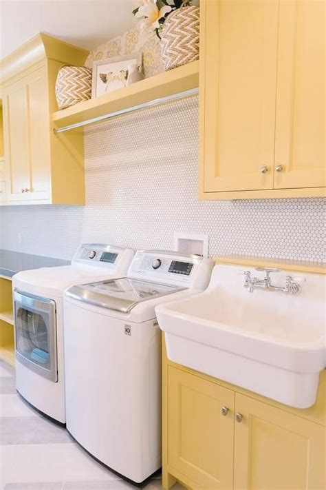 kitchen cabinet gallery pictures gorgeous laundry room with yellow shaker cabinets a great 5416