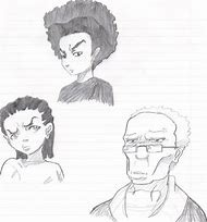 Boondocks Characters Drawings