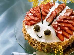 Torte Mit Erdbeeren : maik fer torte mit erdbeeren und marzipan rezept eat smarter ~ Lizthompson.info Haus und Dekorationen