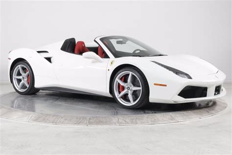 The normal one as well as the spyder. Pre-Owned 2019 Ferrari 488 SPIDER