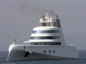 330m Superyacht Owned By Russian Billionaire Sails