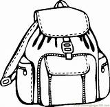 Backpack Coloring Pages Printable Clipart Supplies Coloringpages101 Backpacks Border Clipartmag Pdf Getcoloringpages Things sketch template