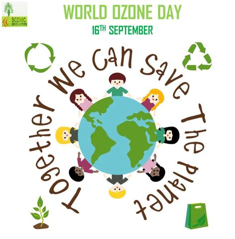 #WorldOzoneDay; lets unite and take steps to save the #
