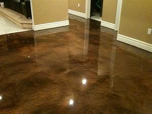Basement floor paint colors new home design new for Can i paint a concrete floor