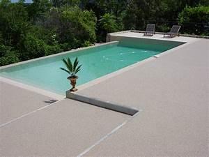 Resine Pour Terrasse Beton Exterieur : terrasse de piscine en resine ~ Edinachiropracticcenter.com Idées de Décoration