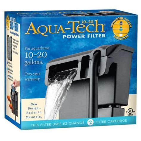 Filtre Pour Aquarium 20l by Filtre Puissant Pour Aquarium Aquatech 10 20 Walmart Ca