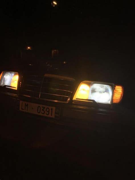 xenon lights ce leds upgrade mercedes