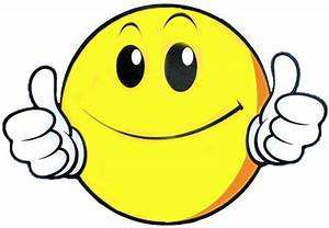 Cartoon Thumbs Up Smiley - ClipArt Best