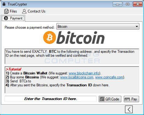 Hackers launched an attack on institutions in 100 different countries. TrueCrypter Ransomware accepts payment in Bitcoins or Amazon Gift Card