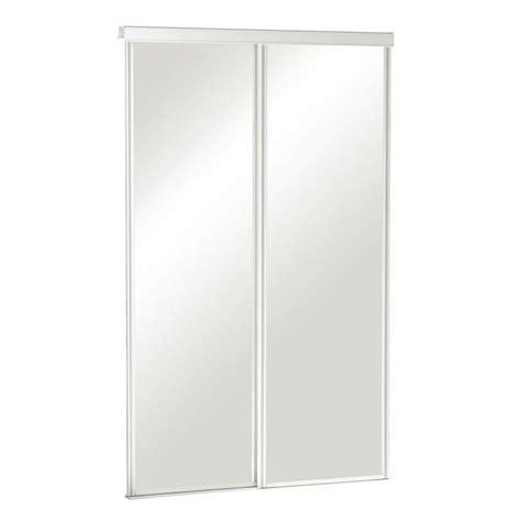 truporte 72 in x 80 in 325 series steel white frameless