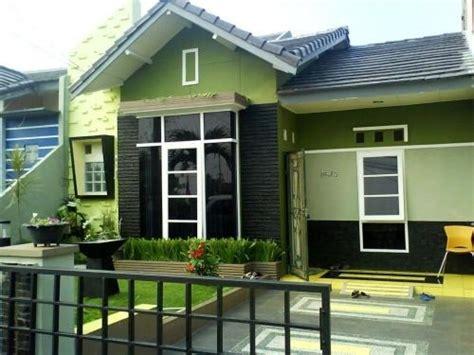 warna cat dinding luar rumah minimalis  desain rumah hunian