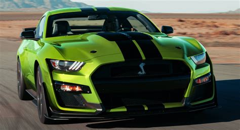ford mustang gains grabber lime color  time  st
